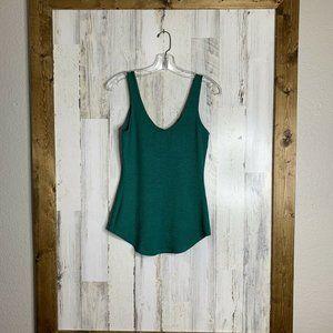 Abi Ferrin green prudence tank top knit sleeveless